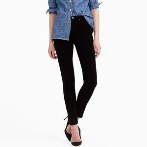 j crew lookout high rise skinny black size 24